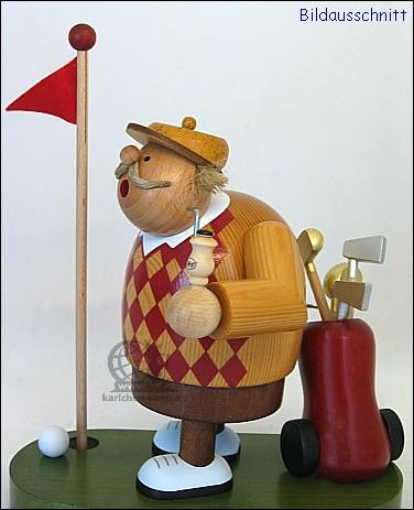 Golfer - Incense Smoker