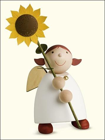 Schutzengel mit Sonnenblume