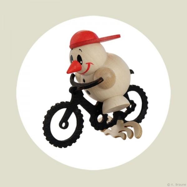 COOL MAN auf Mountain Bike