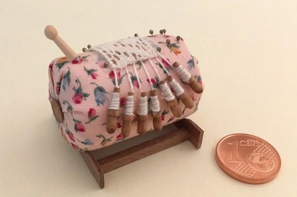 Miniatur-Klöppelsack / rosa