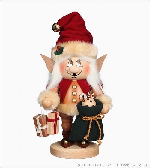 Weihnachtselfe Wichtel - Räucherfigur