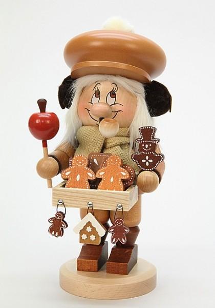 Lebkuchenverkäufer Wichtel - Räuchermann