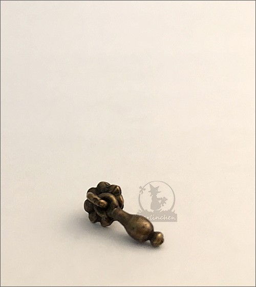 Schubladengriff, antik
