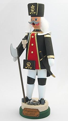 Bergmeister um 1719 - Räuchermann