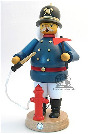 Feuerwehrmann - Räuchermann