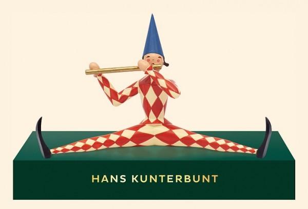 Hans Kunterbunt mit Podest