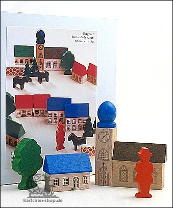 Bergdorf im Karton