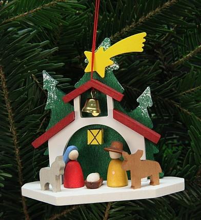 Kapelle mit Heiliger Familie - Baumbehang