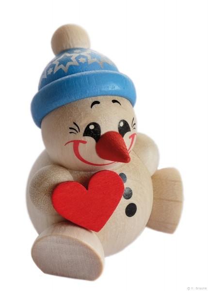 COOL MAN mit Herz, blaue Mütze