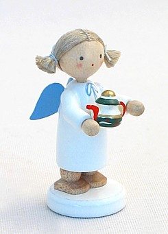 Engel mit Teekanne