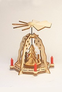 Miniatur-Pyramide Christi Geburt / 5 cm