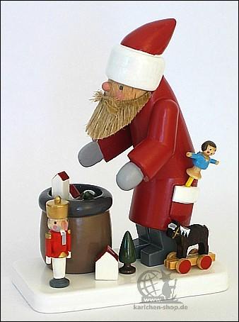 Flade Weihnachtsmann mit Spielzeug