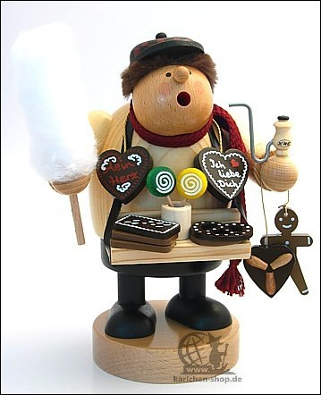 Gingerbread seller - Incense Smoker