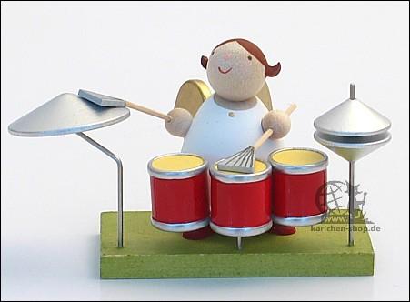 Schutzengel am Schlagzeug