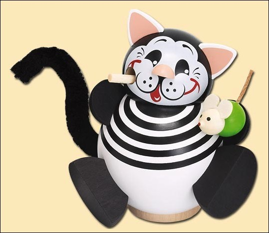 Kätzchen - Räucherfigur