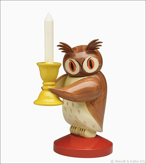 Owl with Candelabra, large