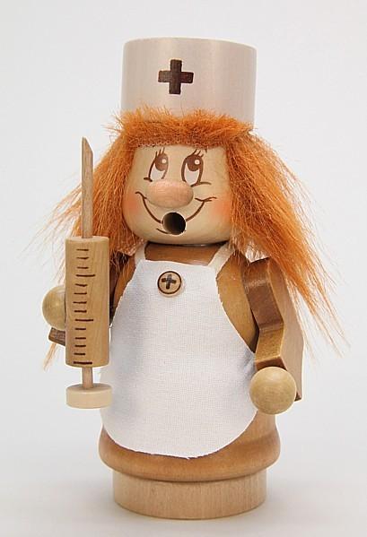 Krankenschwester Wichtel - Räucherfigur