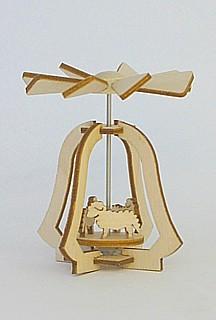 Miniatur-Pyramide mit Schafen / 5 cm