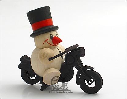 COOL MAN auf Motorrad