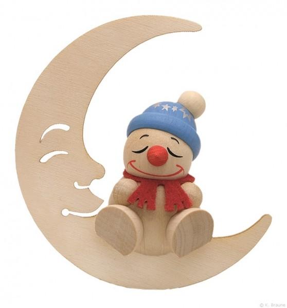 COOL MAN schlafend im Mond