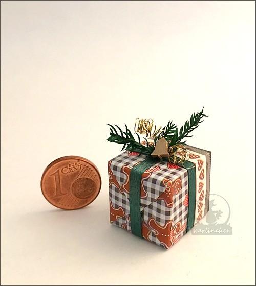 Geschenkpäckchen, handgefertigt / Motiv 2