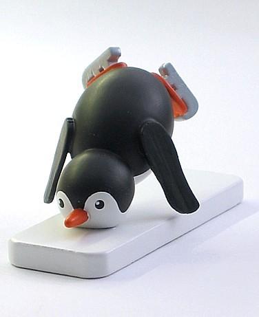 Pinguin Eiskunstläufer