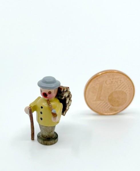 Miniatur Räuchermann Waldarbeiter