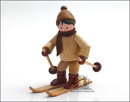 Winterkind Abfahrtsläufer