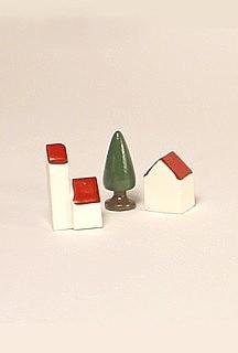 small village, three-piece