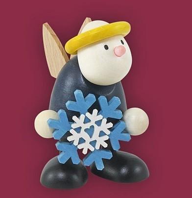 Engel Hans mit Schneeflocke