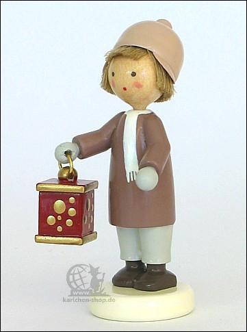 Boy with Christmas lantern