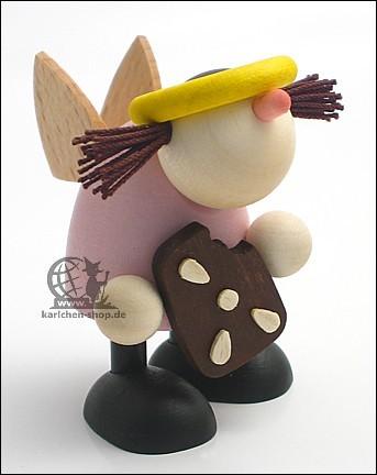Engel Frieda mit Pfefferkuchen