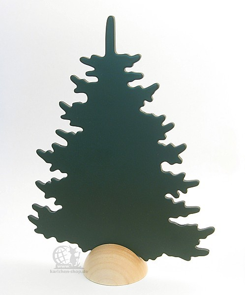 Deco fir, green / 20 cm