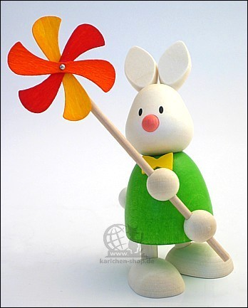 Kaninchen Max mit Windmühle / leider vergriffen