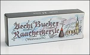 Räucherkerzen Bucker / Weihrauch
