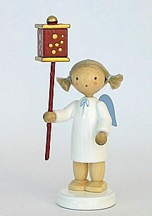Angel with Christmas lantern