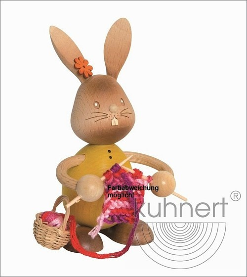 Bunny Stupsi with knitting accessoires