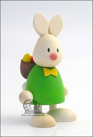 Kaninchen Max mit Rucksack & Eiern