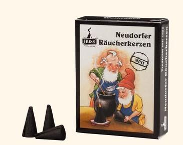 Neudorfer Räucherkerzen, mini / Weihrauch