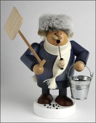 KWO Räuchermann mit Schneeschaufel