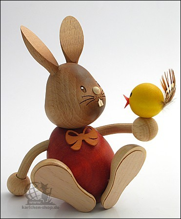 Bunny Stupsi with a chick