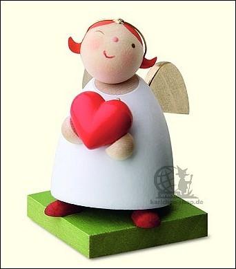 Schutzengel mit Herz