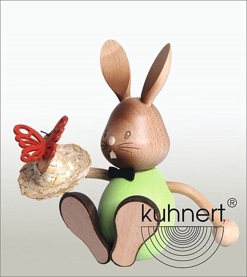 Bunny Stupsi with butterfly